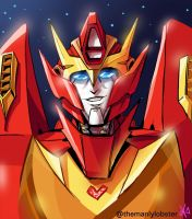 Rodimus by TheButterfly