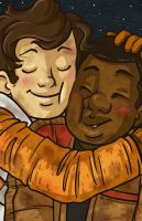 Finn and Poe by megmcmuffins