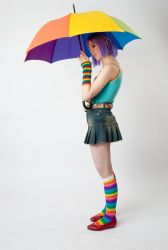 Starry Umbrella 1a by jagged-eye