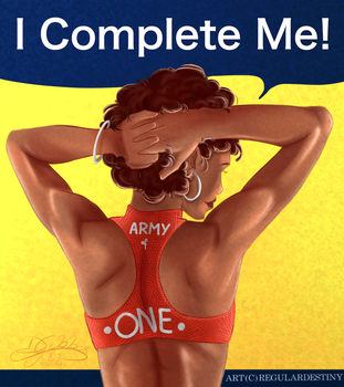 Army of One (Valentine's/Single's Day Card) by lDestiny