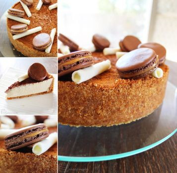 Honey and Cinnamon Cheesecake by cakecrumbs