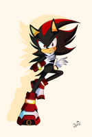 Shadow The Hedgehog by DestinyStarz