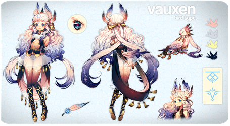 Vauxen | Adopt Auction [CLOSED] by Satchely