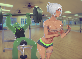 Yes, we do work out by NIELSPETERDEJONG