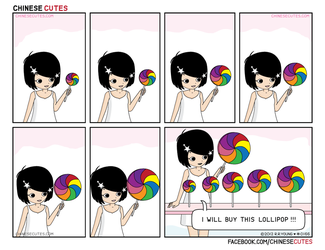 chinese cutes -- '' this lollipop'' by chinese-cutes