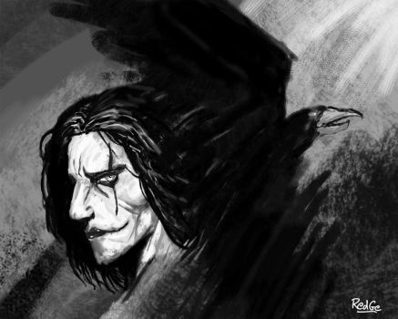 The Crow by RedGeOrb