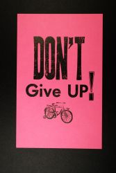 don't give up by dragorien