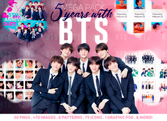 MEGA PACK: BTS 5TH ANNIVERSARY by Hallyumi