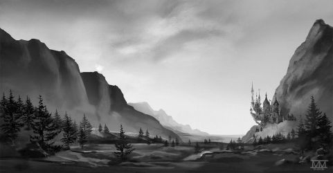 Canterlot--WIP by CosmicUnicorn