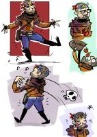 The Witcher 3, doodles 51 by Ayej