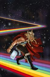 God is Dead cover Thor by MDiPascale