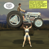 Super Strong Farm Girl by Lingster