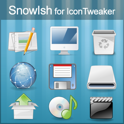 SnowIsh for IconTweaker by anthonium