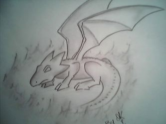Dragon by GroZeiLLe