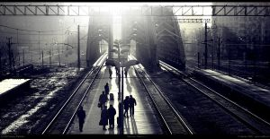 Train to ... by Merkulov