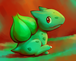 Bulbasaur by BlazeDGO