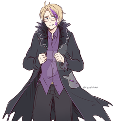 APH The Company Presidents Son by Patynotchan