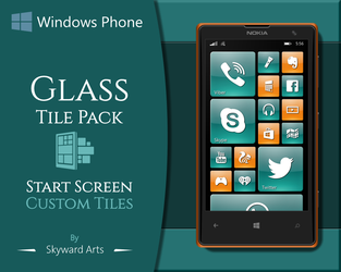 Glass Tile Pack by SkywardArts