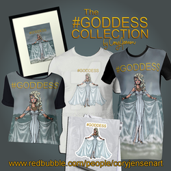 The #Goddess Collection by Cor104