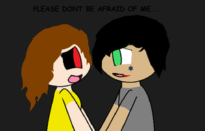 Please Dont Be Afraid Of Me... by jayjayepic324