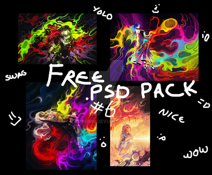 Free PSD Pack #6 by iShyion