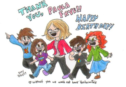 Happy Birthday Paula by ShoobaQueen