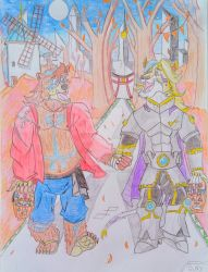 Sweet knight and warrior by Osoni-newyorker123