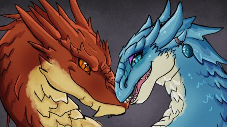 Fire and Ice by TeaDarkA