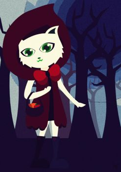 Little Red Riding Hood by nasiputih25