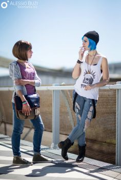 Max and Chloe Life is strange by LadyJeyx90