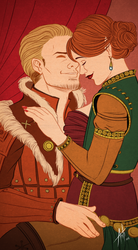 Dragon Age : My  queen ! by Lefantoan