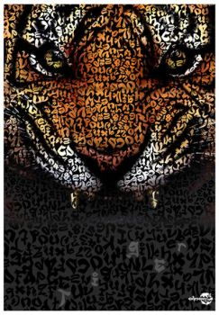 Tiger Typo by AimanMD