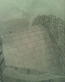 Great Wall Sketch by Angel-Fields