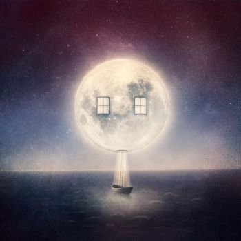 Moon House by blue-a