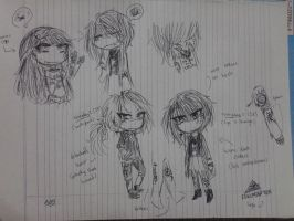 Kanae redesign + headcanons by GlitchMonster404