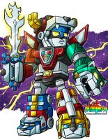 SD Voltron by ninjatron