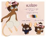 2018 Mouse Reference by Icoboo