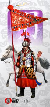 Ming Dynasty General by dorianclock