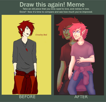 Draw this again Challenge by Trickster-redcrow