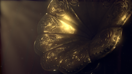 Final Render CG Antique Gramophone 02 by BethsFienneArt