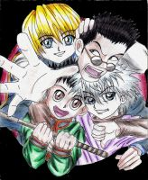 hunterxhunter by glen-quilat