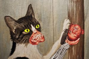 My Cat Can Haz Whatever the Fuck She Wants by RetrofitArt