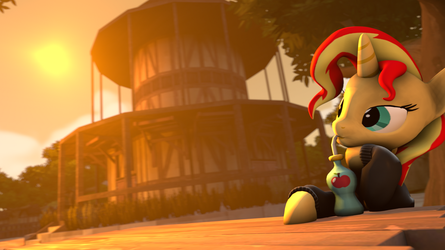 [SFM] Drinking Some Juice in the Sunset by Jarg1994