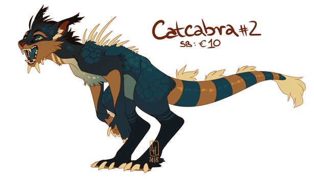 Catcabra #2 AUCTION by LiLaiRa