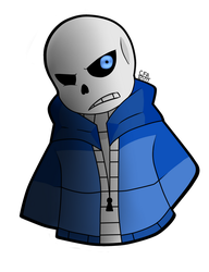 -:Sans:- by TheCartoonFan