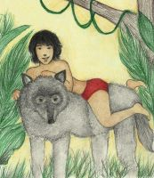 Mowgli and Rama by Annathelle26