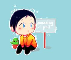 Cute Little Phil by Achlucide