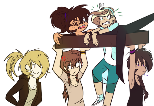 What are we do? [DrawTheSquad] by ReginaSmile