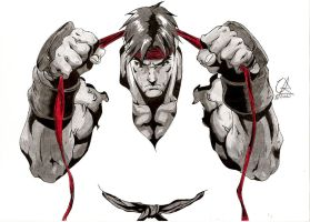 Street Fighter...Ryu by Elrick87