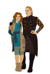 fashion (Triss and Morvran) by Michelsminne
